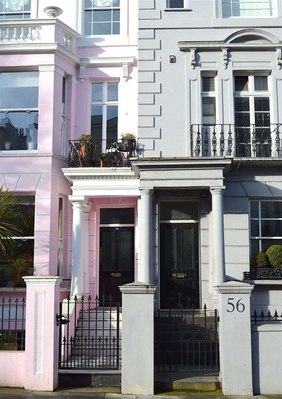 Notting Hill pretty terraced homes