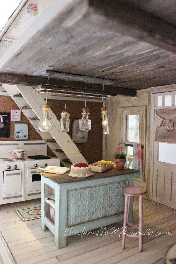 dolls house kitchen
