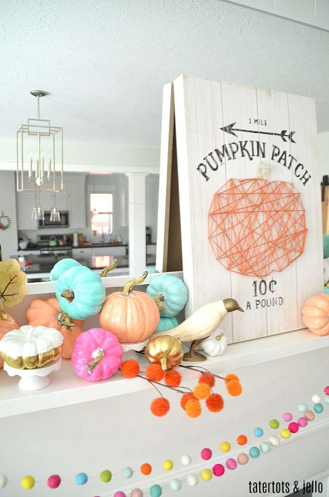 dollar store painted pumpkin tutorial