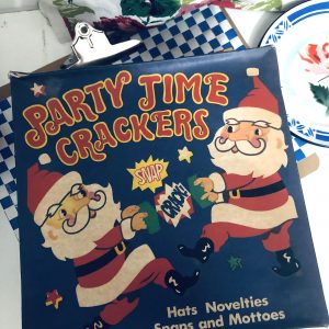 party time vintage crackers
