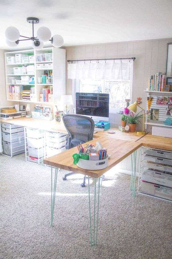 large open craft space