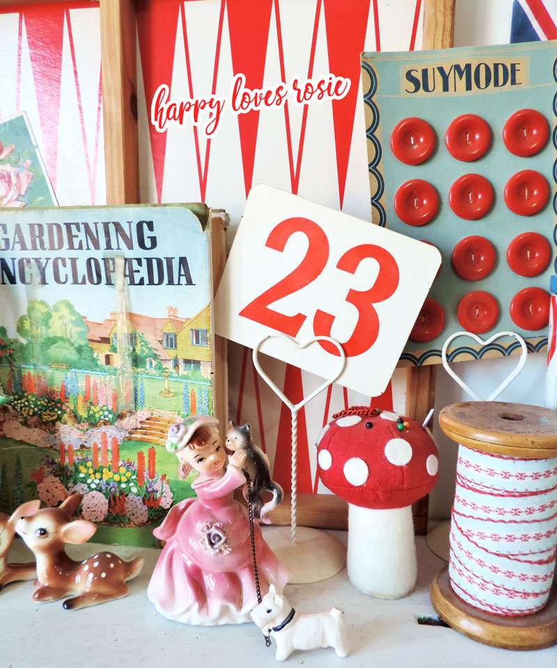 vintage buttons books and quirky collectibles