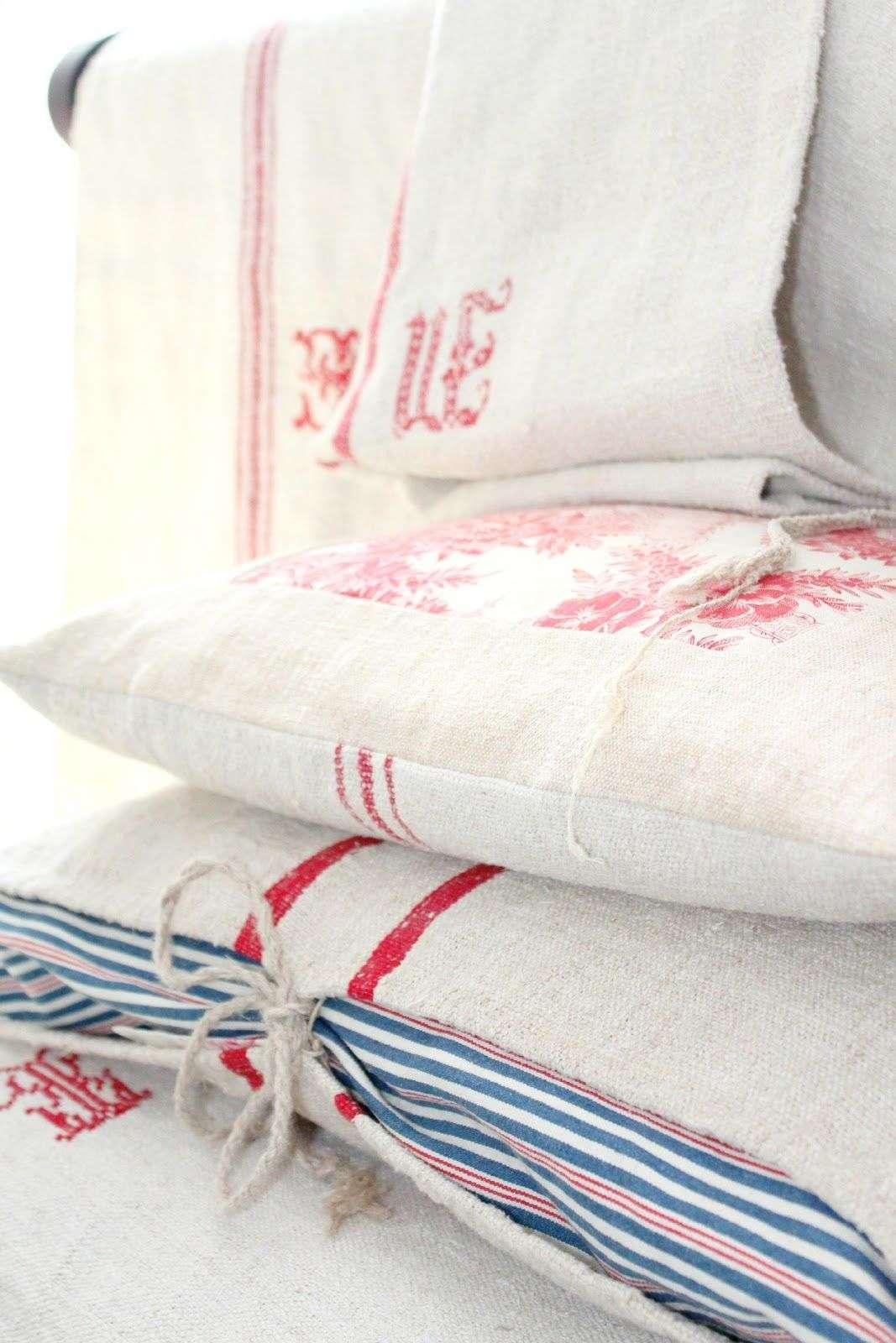 fench bedroom linens