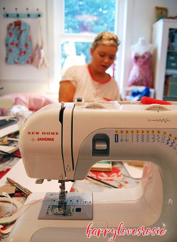 janome sewing machine office